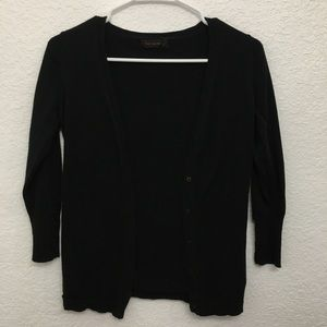 Black button up The Limited cardigan